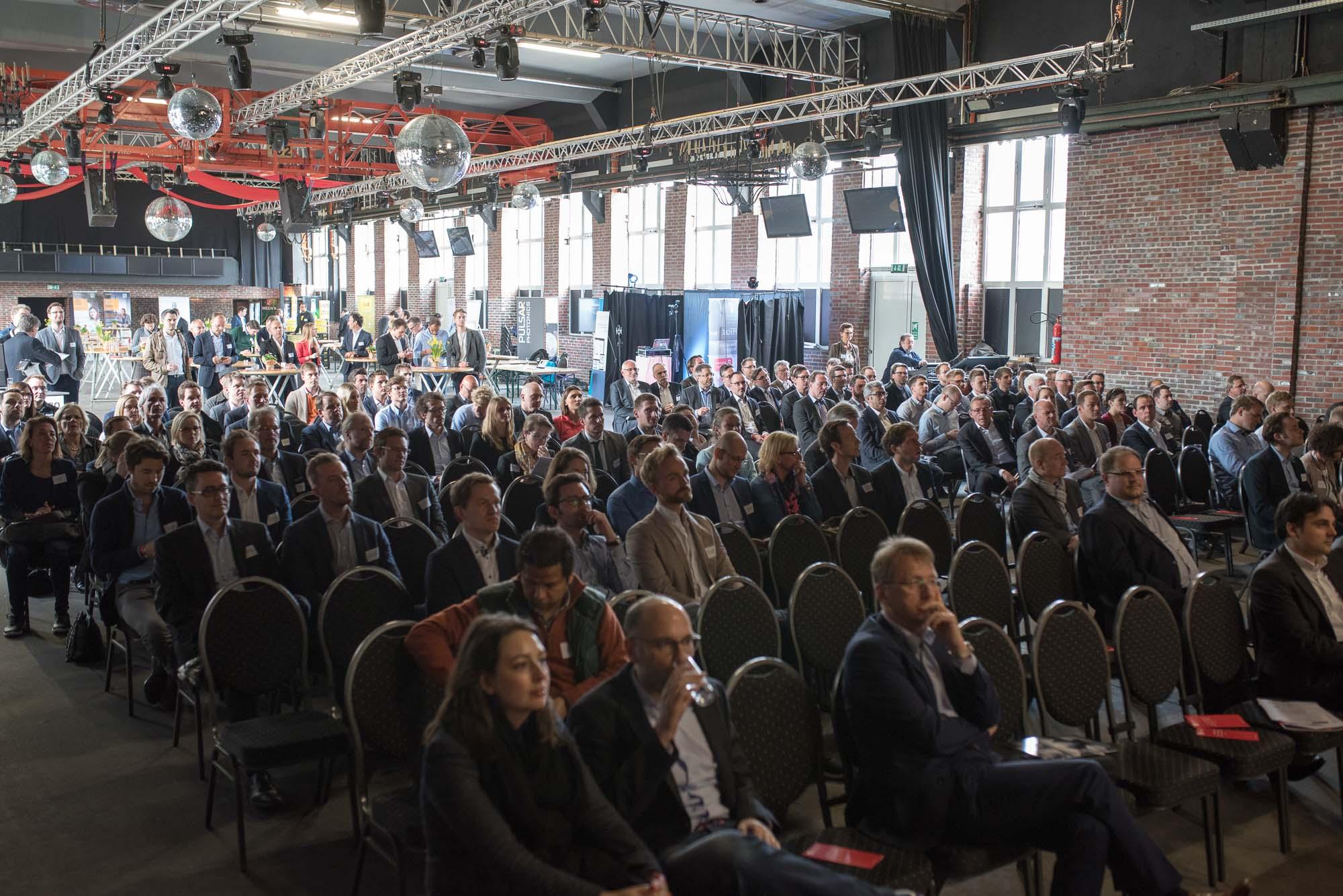 Volles Haus, viele Menschen auf dem German Venture Day 2017