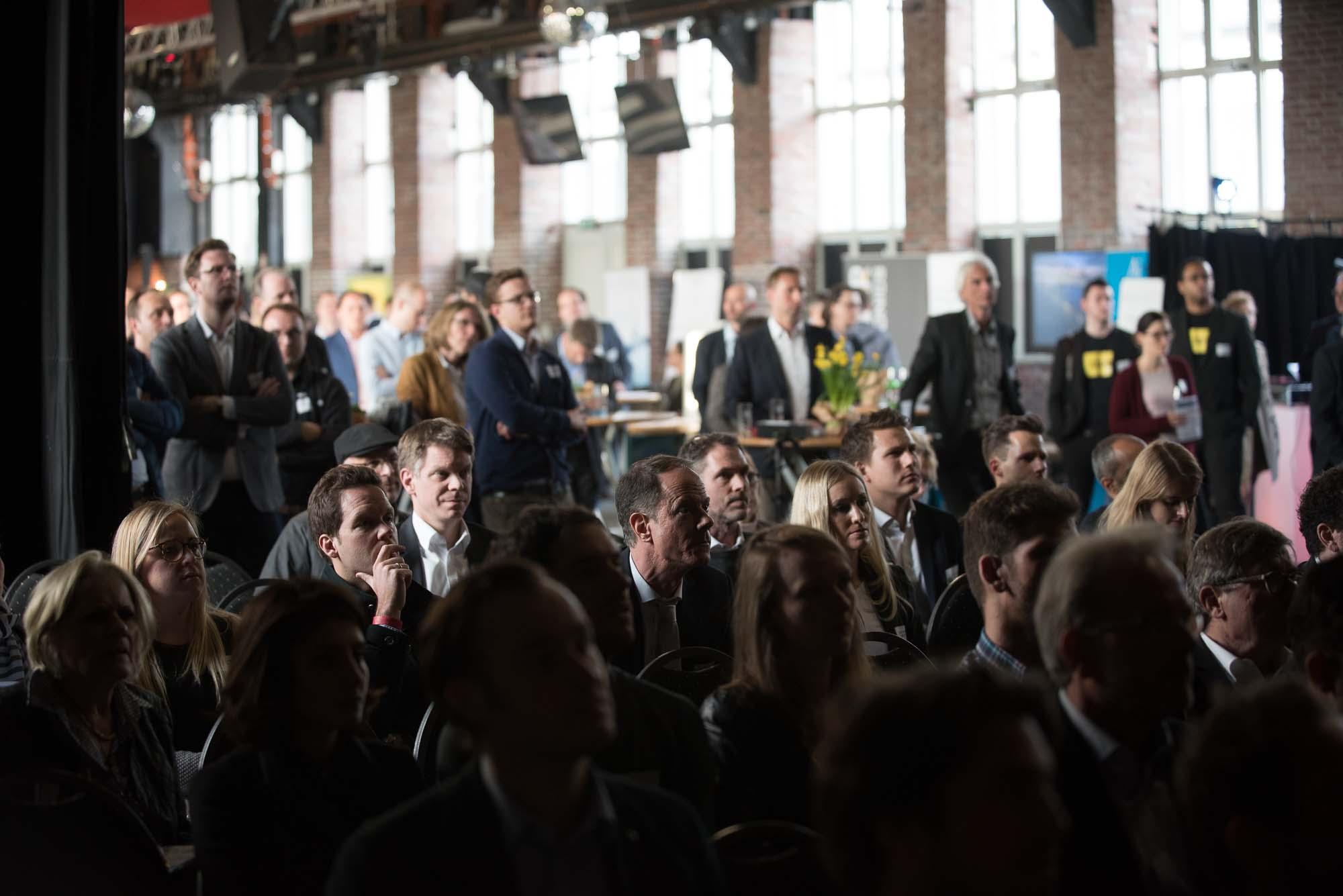 Volles Haus auf dem German Venture Day 2017.