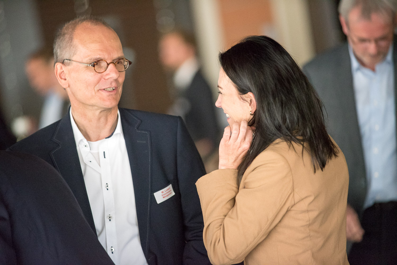 Wolfgang Lubert und Natascha Grosser