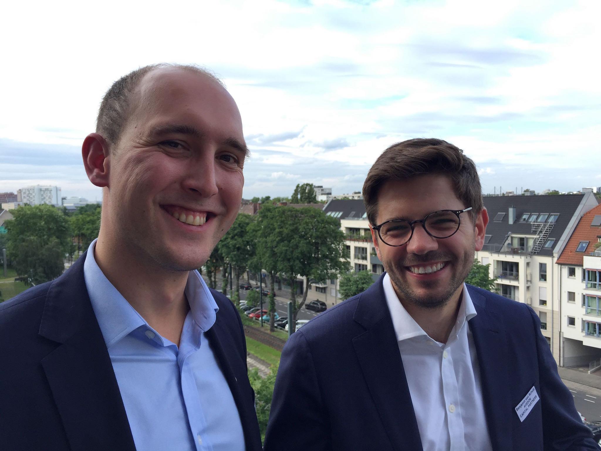 Alexander Maluche und Ben von Schulz