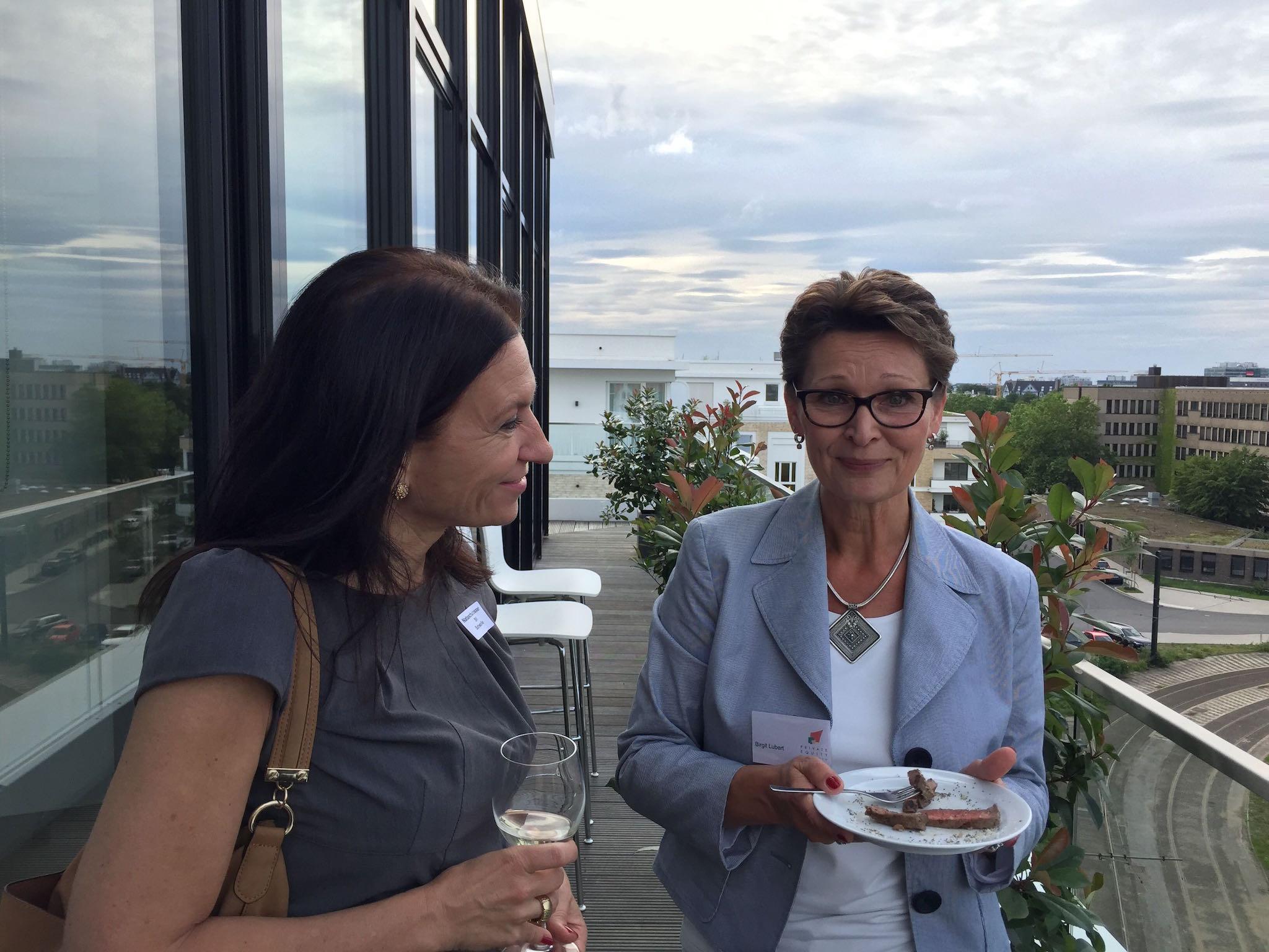 Natascha Grosser und Birgit Lubert