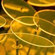 gelbe Scheiben
