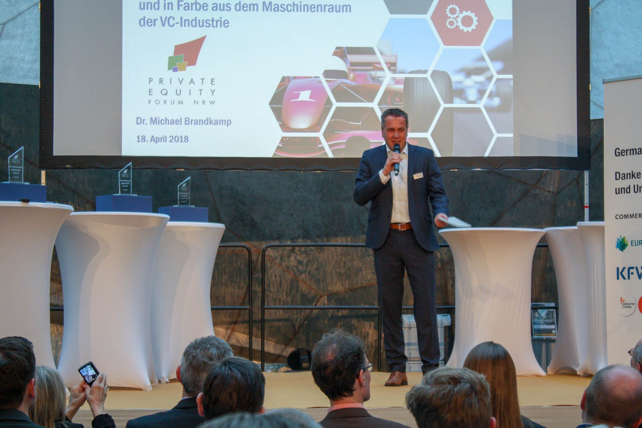 German Venture Day auf der Start-Up Woche 2018 in Düsseldorf