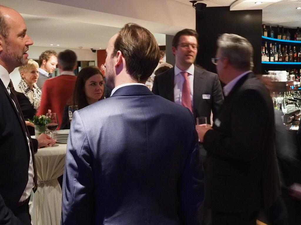 Auf dem Investors' Circle im März 2019